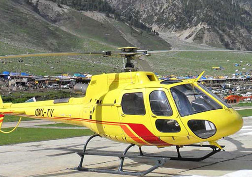 केदारनाथ के लिए हेलीकॉप्टर सर्विस के टिकट ब्लैक करने पर एक गिरफ्तार