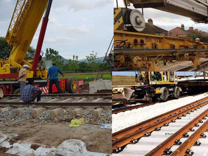भारतीय रेलवे ने मात्र 5 घंटे 6 अंडरब्रिज बनाकर रचा इतिहास