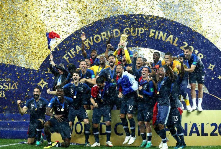 20 साल बाद फिर विश्व चैंपियन बना फ्रांस