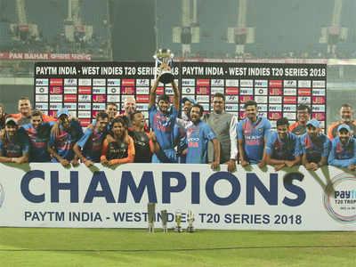 भारत ने अंतिम गेंद पर वेस्टइंडीज को हराकर 3-0 से जीती सीरीज