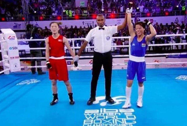 मैरीकॉम 6 गोल्ड जीतने वाली दुनिया की पहली महिला बॉक्सर बनीं