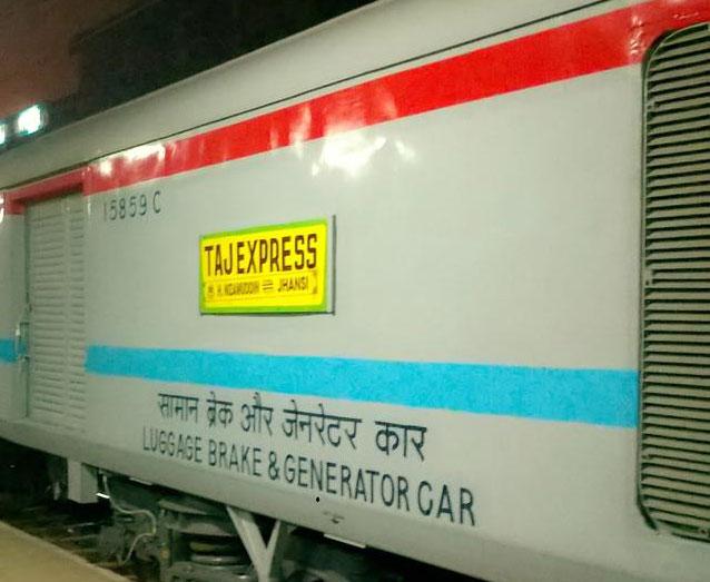 31 मार्च तक ग्वालियर से नई दिल्ली के बीच चलेगी ताज एक्सप्रेस
