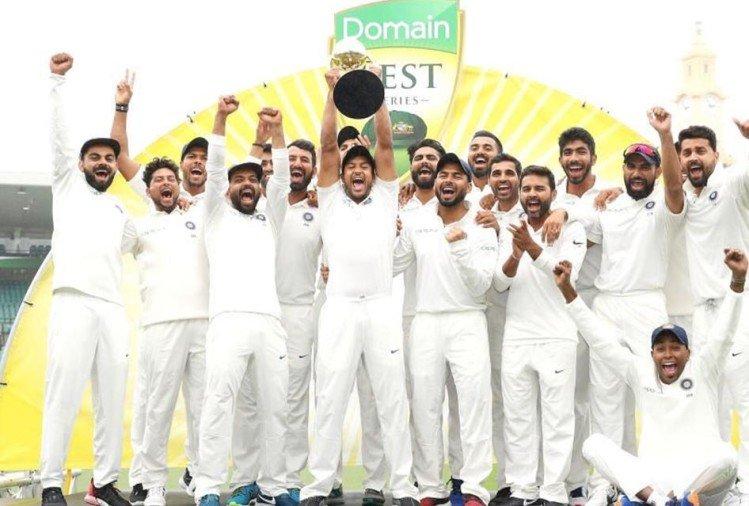 भारत ने पहली बार ऑस्ट्रेलिया में जीती टेस्ट सीरीज