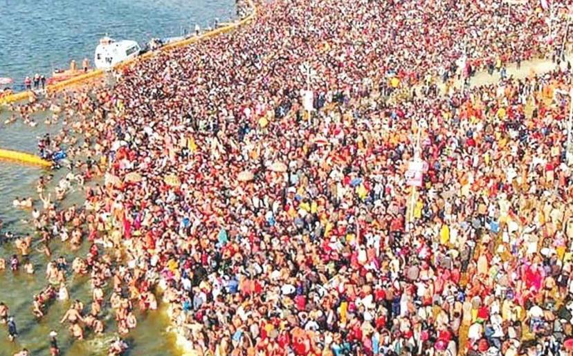 कुंभ 2019: पौष पूर्णिमा पर दूसरा बड़ा स्नान पर्व शुरू