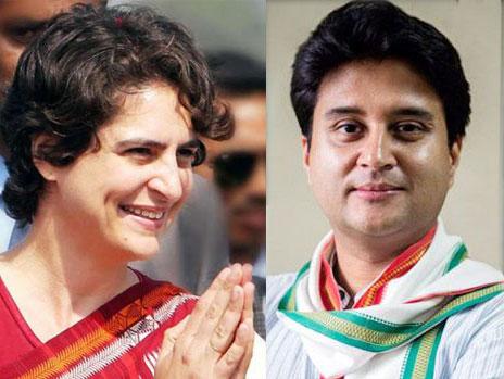 कांग्रेस ने प्रियंका गांधी और ज्योतिरादित्य सिंधिया को महासचिव बनाया