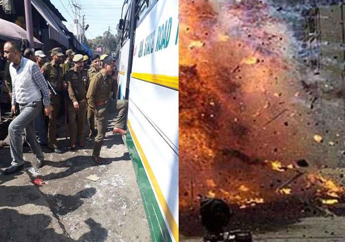 जम्मू-कश्मीर: जम्मू बस स्टैंड में धमाका, कई लोग घायल