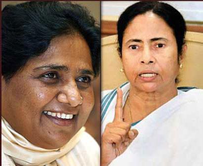 माया-ममता ने कांग्रेस को दिया झटका