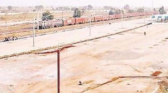रायरू माल गोदाम को मुख्य लाइन से जोड़ने और शिफ्ट करने का काम मई में