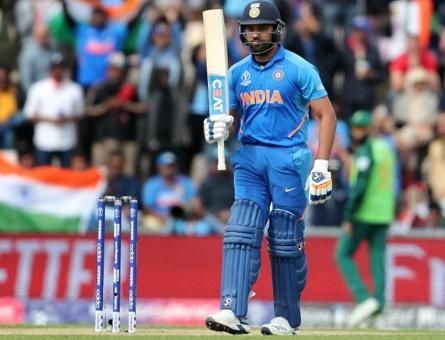 भारत का विजयी आगाज, रोहित शर्मा ने ठोका नाबाद शतक