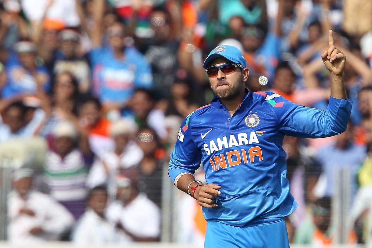 युवराज सिंह ने लिया अंतरराष्ट्रीय क्रिकेट से संन्यास