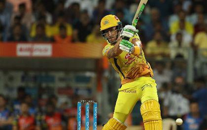 डू प्लेसी ने चेन्नई को फाइनल में पहुँचाया