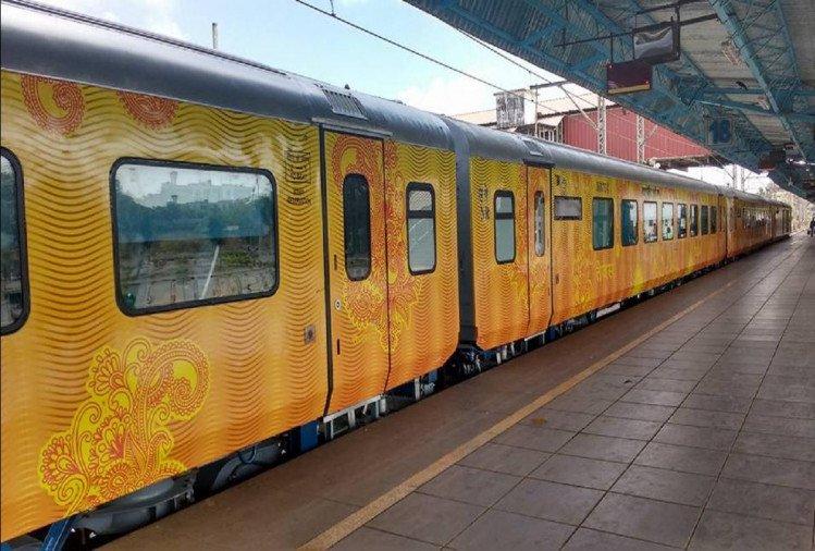 चार अक्टूबर को लखनऊ से और पांच को नई दिल्ली से चलेगी तेजस ट्रेन