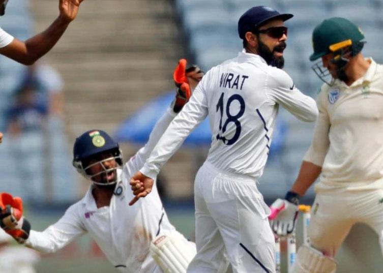 भारत ने पारी और 137 रन से जीता दूसरा टेस्ट, सीरीज में 2-0 की बढ़त