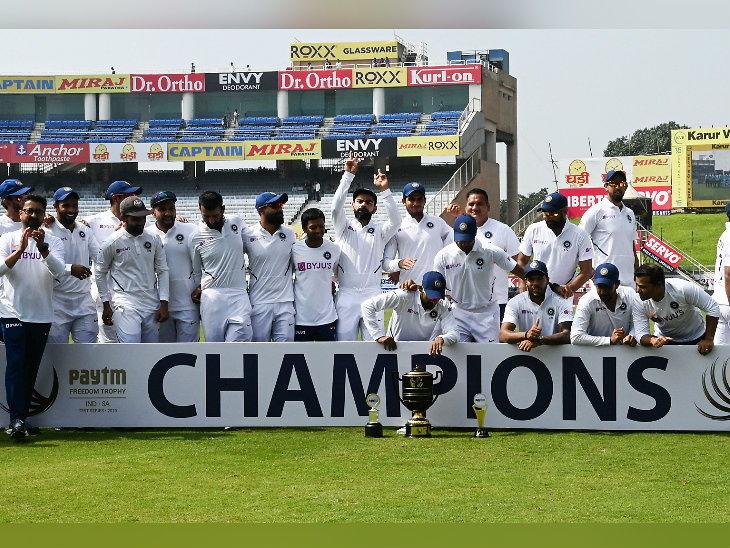 भारत की दक्षिण अफ्रीका पर पारी और 202 रन से ऐतिहासिक जीत