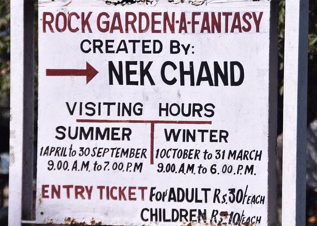 रॉक गार्डन ऑफ़ चंडीगढ़