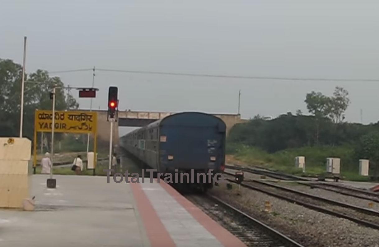 यादगिर से दिल्ली के लिए फ़रवरी में चलेगी विशेष ट्रेन