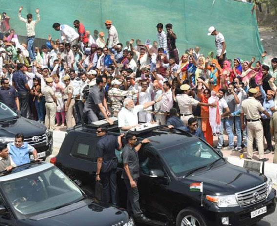 पीएम मोदी ने किया दिल्ली-मेरठ एक्सप्रेसवे का उद्घाटन